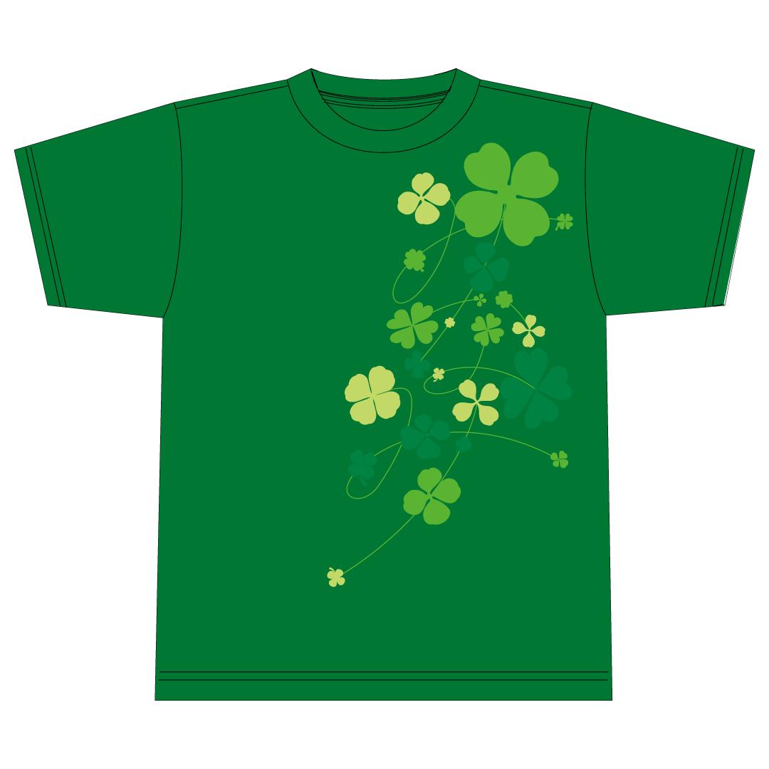 葉月みなみオリジナルTシャツ(グリーン)