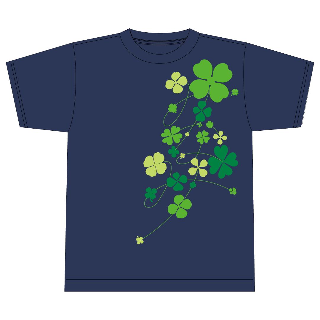 葉月みなみオリジナルTシャツ(ナイトブルー)